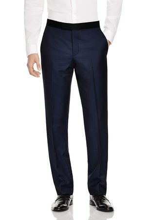 Ted Baker Men Slim & Skinny Pants - Slim Fit Tuxedo Dress Pants