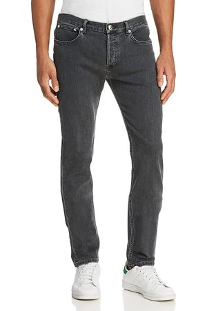 A.P.C Petit New Standard Skinny Fit Jeans in Washed Black