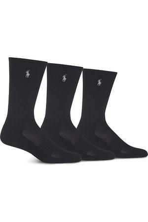 Ralph Lauren Athletic Crew Socks - Pack of 3