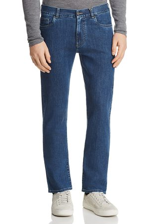 CANALI Men Straight - Stretch New Straight Fit Jeans in Denim