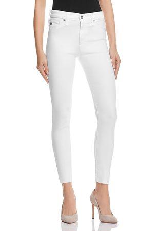 AG Farrah Skinny High-Rise Ankle Jeans in