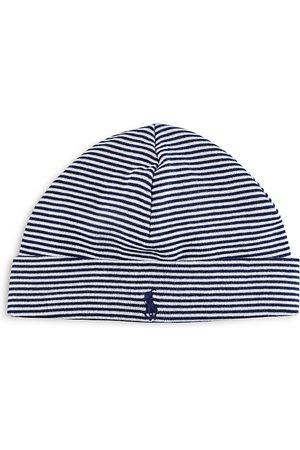 Ralph Lauren Infant Boys' Striped Hat - One Size