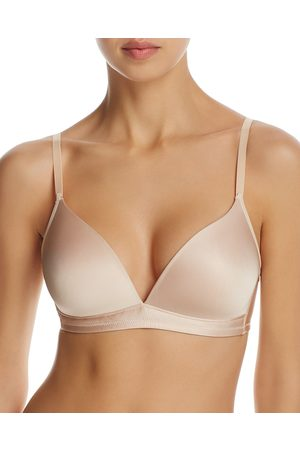 Hanro Satin Deluxe Soft Cup Wireless T-Shirt Bra