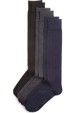 Ralph Lauren Over-The-Calf Assorted Dress Socks, Pack of 3
