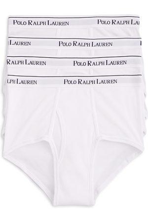 Ralph Lauren Mid-Rise Briefs, Pack of 4