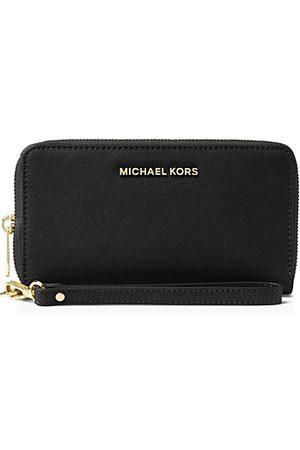 Michael Kors Multi-Function Flat Large Saffiano Leather Smartphone Wristlet
