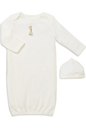 Little Me Unisex Giraffe Gown & Hat - Baby