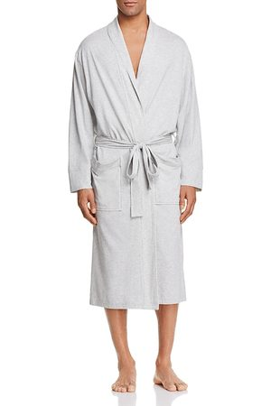 Daniel Buchler Men Bathrobes - Peruvian Pima Cotton Robe