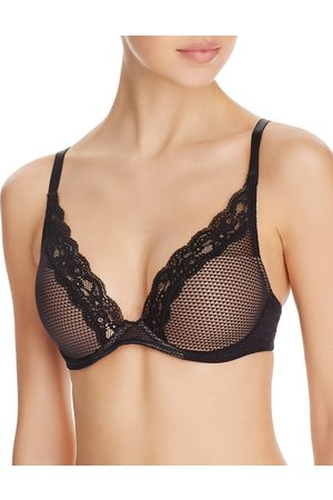 Chantelle Brooklyn Plunge Lace T-Shirt Bra