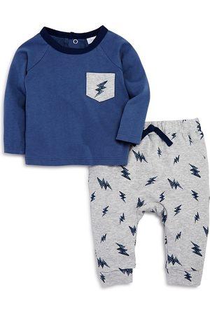 Bloomie's Sets - Boys' Lightning Print Shirt & Jogger Pants Set Baby - 100% Exclusive