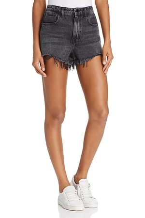 Alexander Wang Bite Cut-Off Shorts in Grey Aged