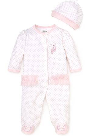 Little Me Girls' Prima Ballerina Footie - Baby