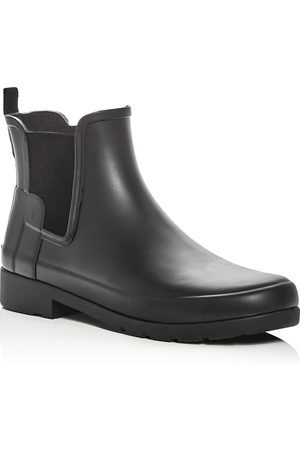 Hunter Women's Refined Matte Chelsea Rain Booties