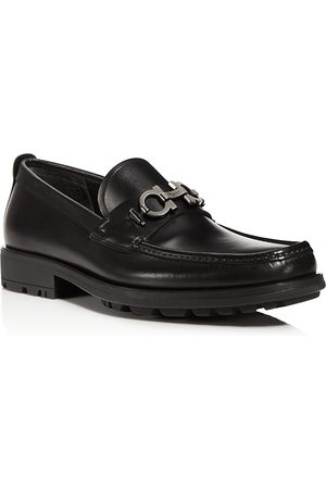 Salvatore Ferragamo Men's David Leather Loafers - Regular