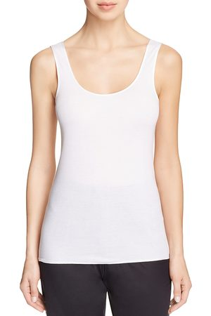 Hanro Cotton Seamless Scoop Neck Tank