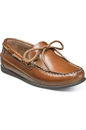 Florsheim Kids Boys' Jasper Tie Jr. Leather Loafers - Toddler, Little Kid, Big Kid