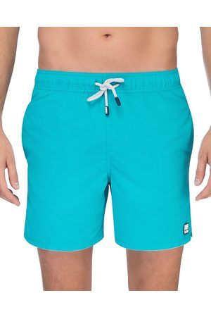 Tom & Teddy Solid Swim Trunks