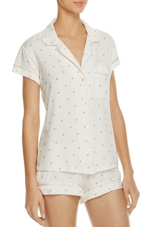 Eberjey The Giving Palm Short Pj Set