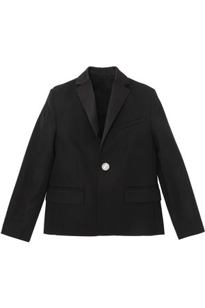 Balmain Boys Jackets - COOL WOOL TUXEDO JACKET