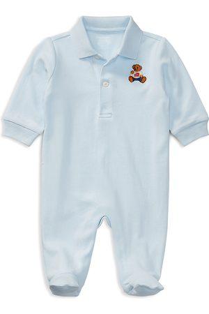 Ralph Lauren Polo Shirts - Boys' Polo Bear Cotton Coveralls - Baby