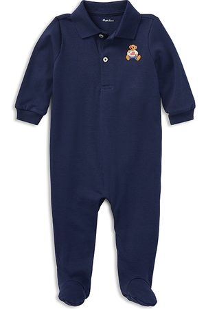 Ralph Lauren Polo Shirts - Boys' Polo Bear Cotton Coveralls - Baby