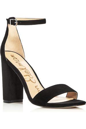 Sam Edelman Women Heels - Yaro Ankle Strap Block Heel Sandals