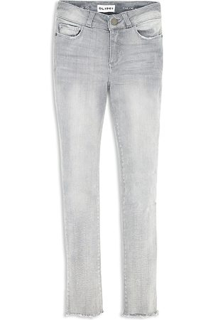 Dl 1961 Girls' Frayed Hem Skinny Jeans - Big Kid