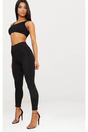 PRETTYLITTLETHING Second Skin Hightwaisted Ponte Seamed Legging