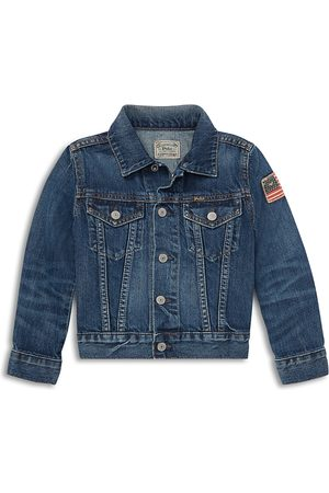 Ralph Lauren Polo Boys' Cotton Denim Jacket - Little Kid