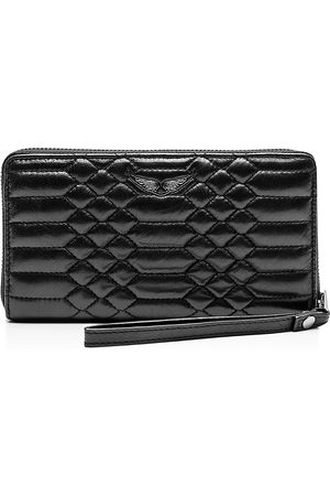 Zadig & Voltaire Compagnon Mat Embossed Leather Wallet