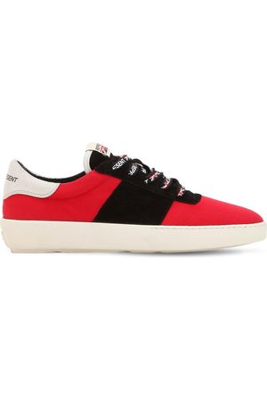 Represent COURT CANVAS & SUEDE SNEAKERS