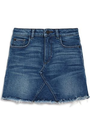 Dl 1961 Girls' Frayed Denim Skirt - Big Kid