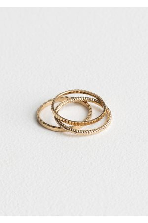 & OTHER STORIES Stack & Layer Ring Set
