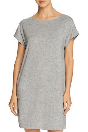 Hanro Women Short Sleeve - Natural Elegance Short Sleeve Gown