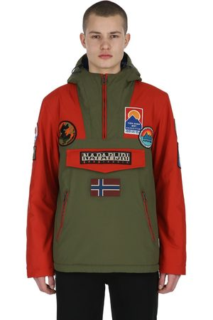 Napapijri Rain Forest Multi Patch Anorak Jacket