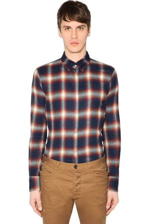 Dsquared2 Button Down Check Cotton Shirt