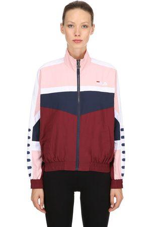 Fila Women Jackets - Orlena Woven Track Jacket