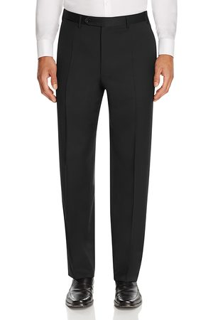 Canali Men Pants - Siena Classic Fit Wool Dress Pants