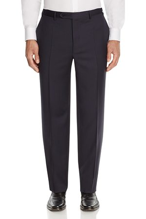 CANALI Siena Classic Fit Wool Dress Pants