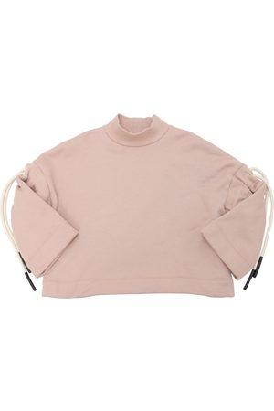 Unlabel Girls Sweatshirts - Cotton Sweatshirt W/ Drawstrings