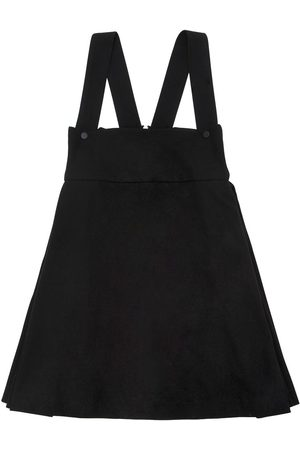 Unlabel Light Felt Skirt W/ Shoulder Straps
