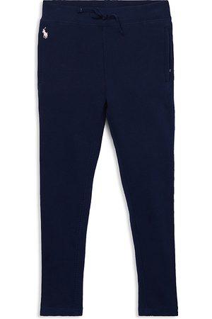Ralph Lauren Girls Sweatpants - Polo Girls' French Terry Sweatpants - Little Kid