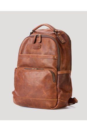 Frye Men Laptop Bags - Logan Leather Backpack