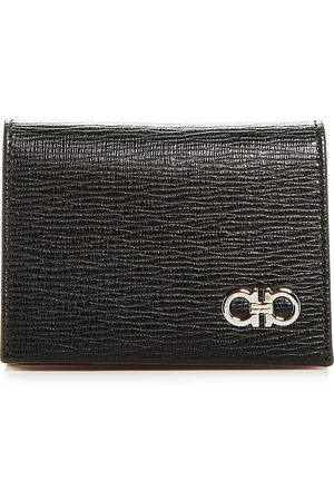 Salvatore Ferragamo Revival Gancini Leather Bi-Fold Card Case