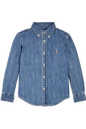 Ralph Lauren Boys' Denim Button-Down Shirt - Little Kid