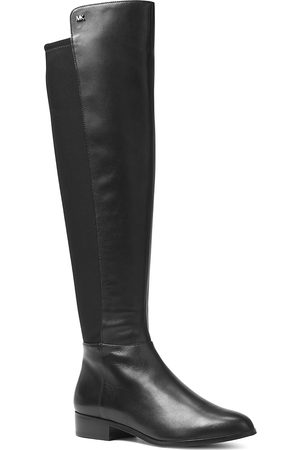 Michael Kors Women's Bromley Leather & Stretch Tall Boots
