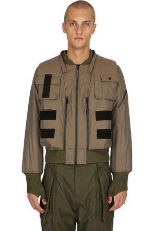 NILMANCE Layered Bomber Jacket
