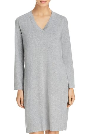 Hanro Women Long Sleeve - Champagne Long Sleeve Gown