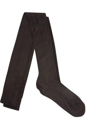 Raey Over The Knee Silk Socks - Womens