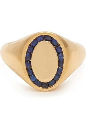 Jessica Biales Sapphire & Yellow Gold Ring - Womens